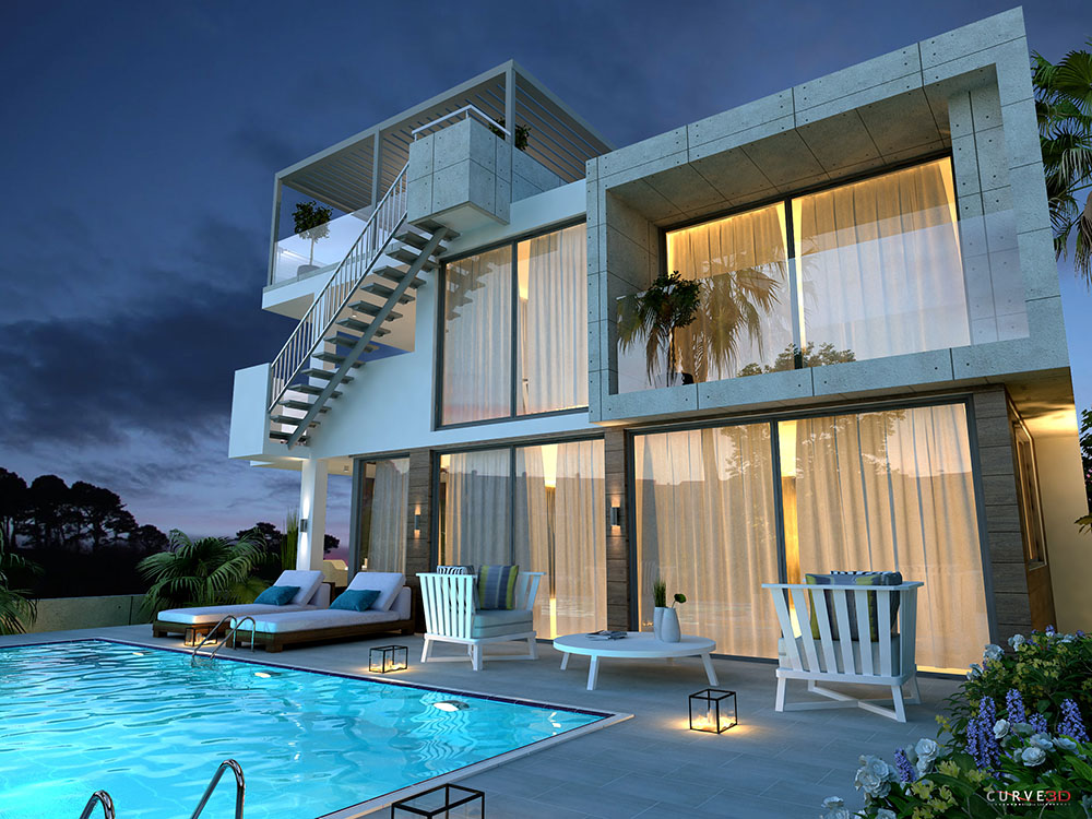 luxurious 4 bedroom villas in protaras