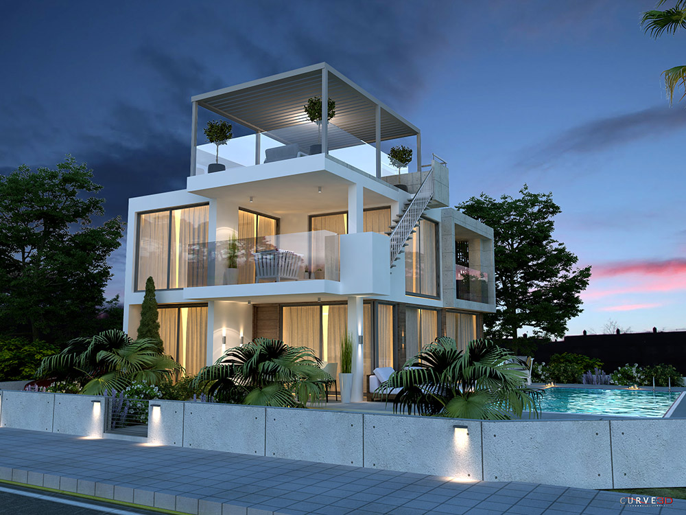 protaras luxury 4 bed villa for sale