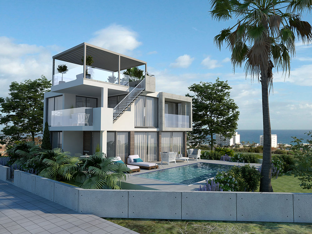 luxury villa for sale in protaras with swimming pool