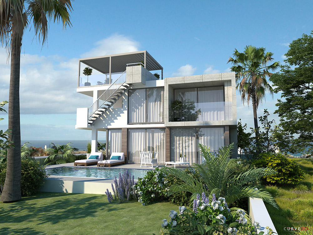 4 bedroom luxury villa in protaras