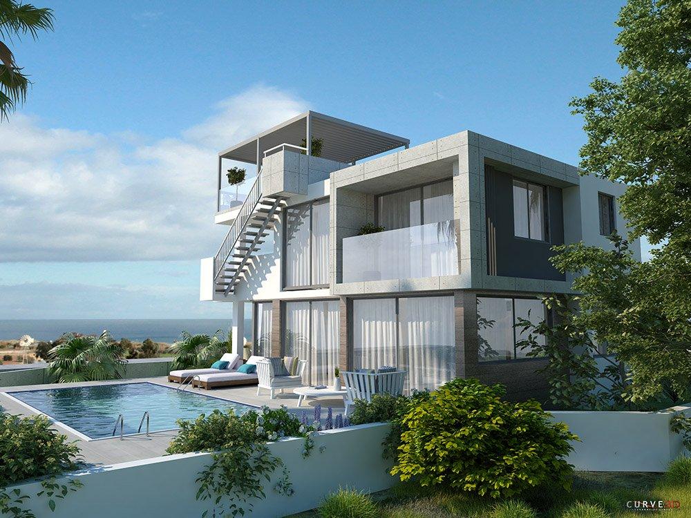 four bed villa for sale protaras