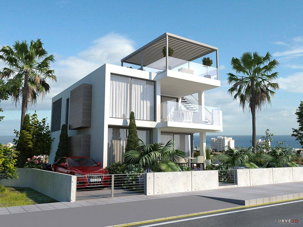 villas for sale protaras