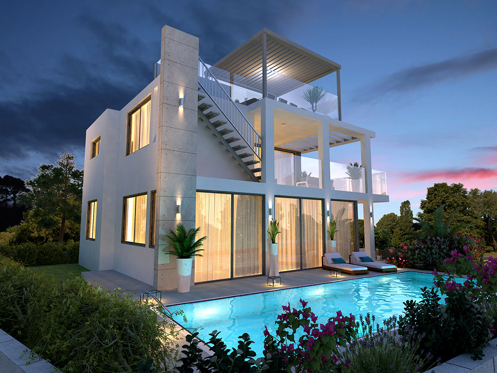 4 bedroom luxury villa with swimming pool