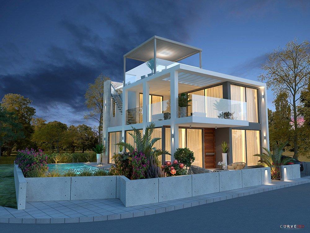 private 4 bedroom luxury villas