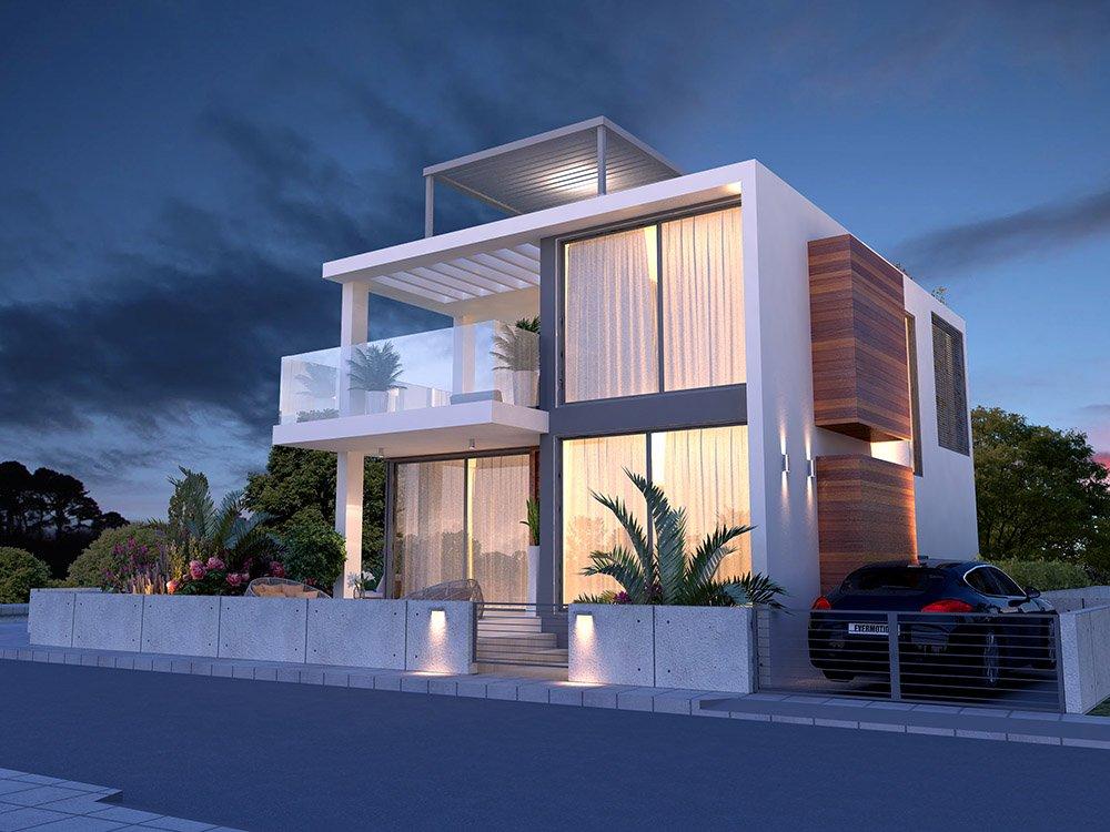 luxury 4 bed property in protaras
