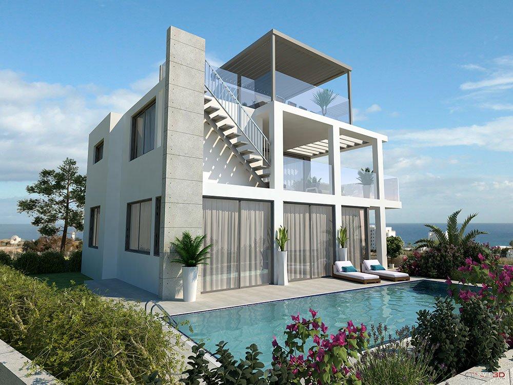 luxury 4 bedroom property for sale protaras