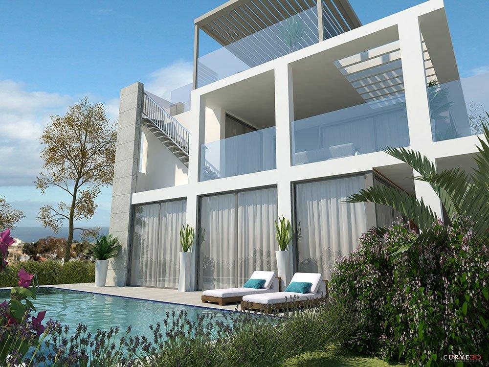 4 bedroom sea view villas for sale