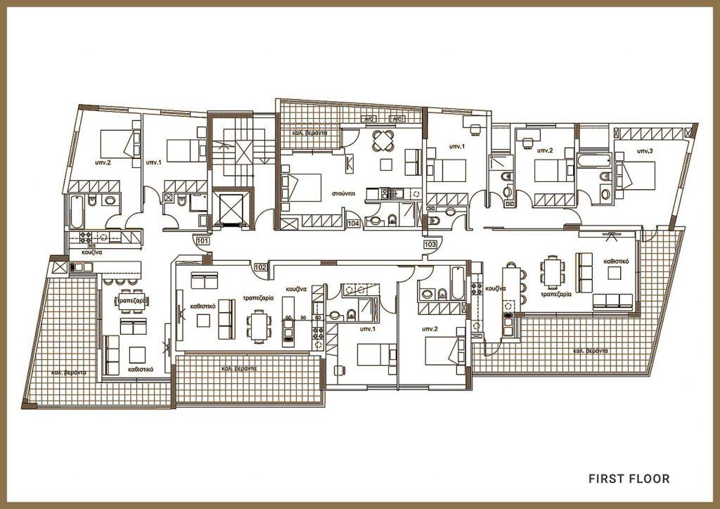 venus first floor