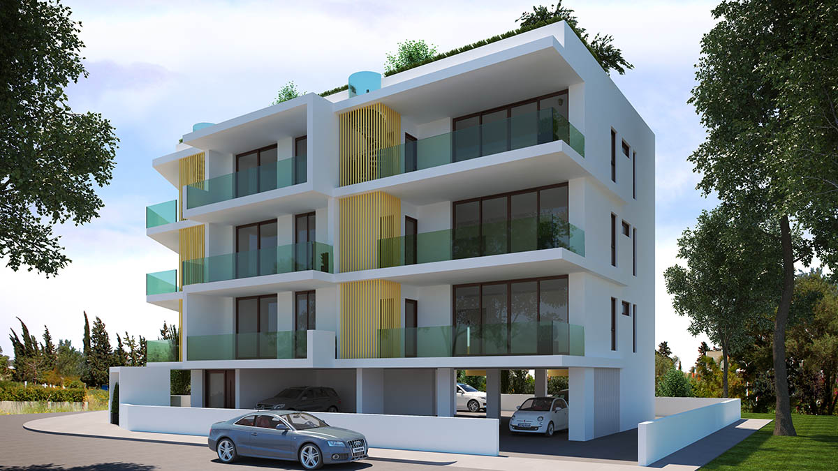 Orfeas apartments have upgraded technical specifications