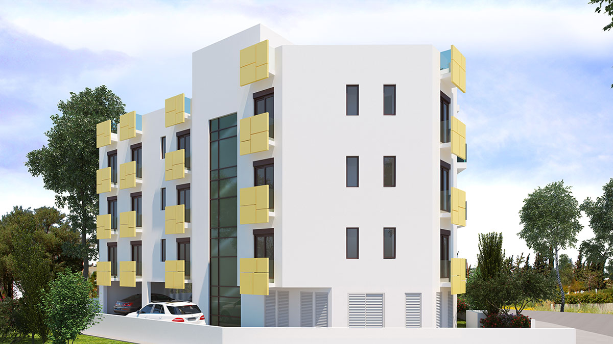 The apartments have allocated covered parking