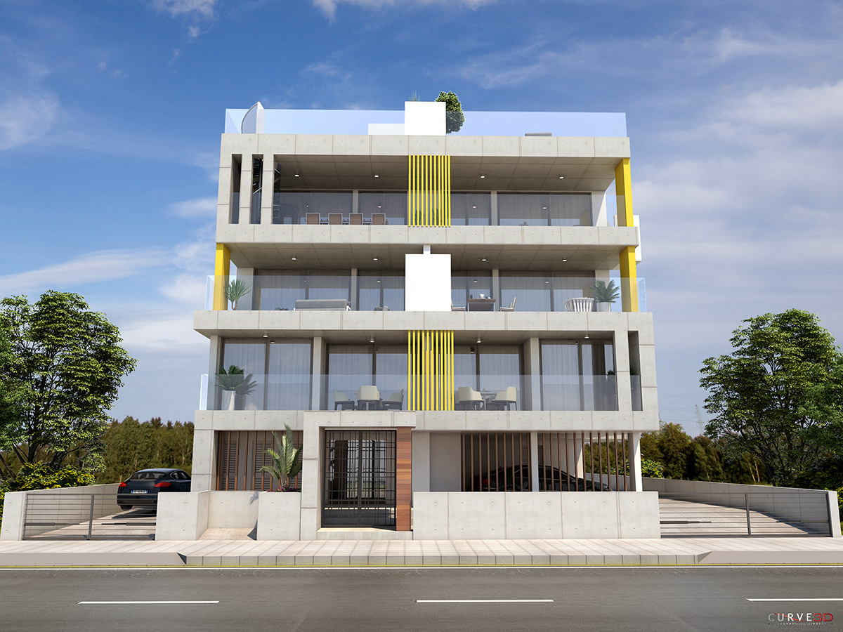 3 floor residential development in engomi