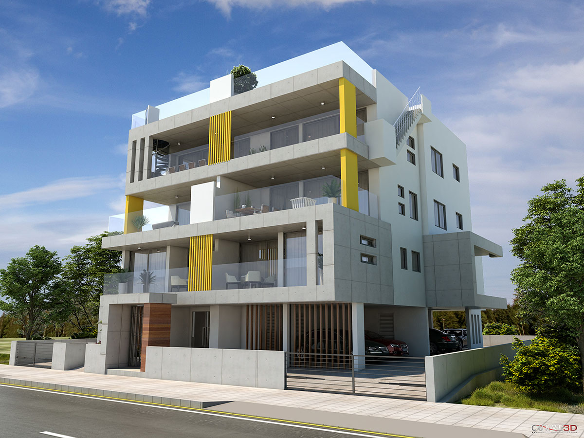 two bedroom apt for sale in engomi