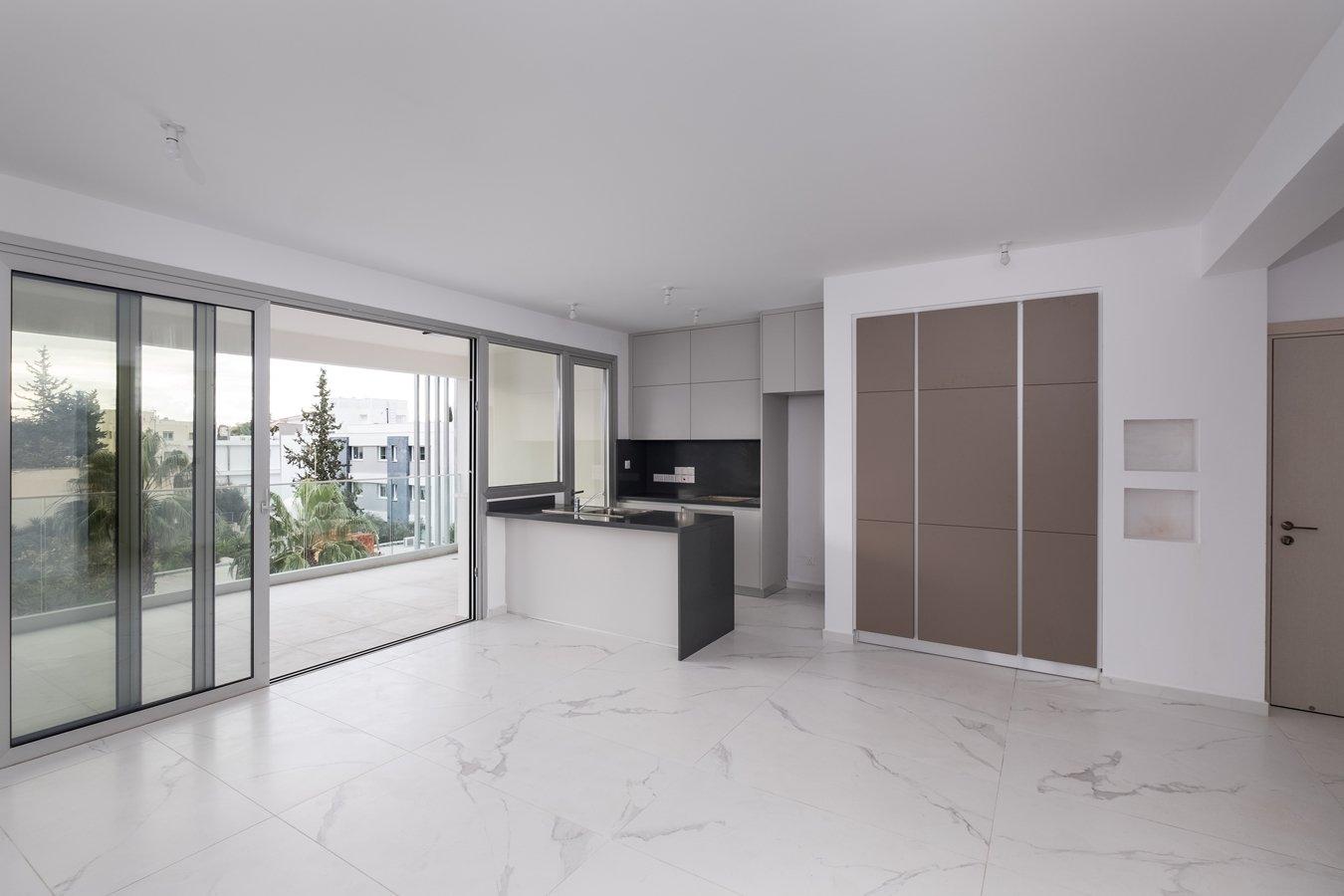 Kitchen 2 bedroom apartment for sale nicosia